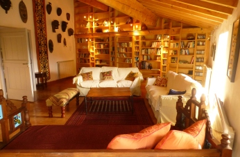 Library from Day Bed